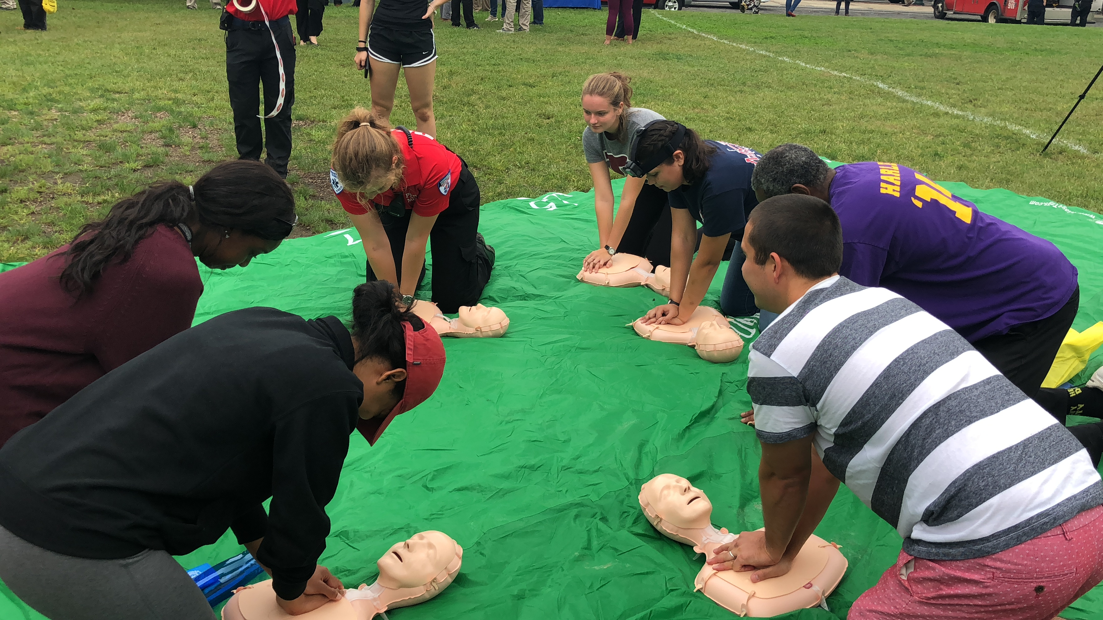 Hands-Only CPR Event Great Success!